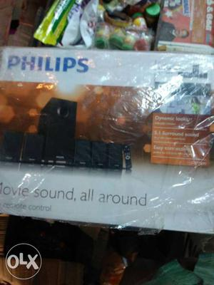 Black Phlips Home Theater Speaker Box