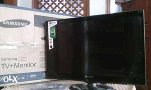 Black Samsung Tv Monitor With Box