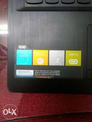 Lenovo laptop working fine. Ram 4 GB Hard drive
