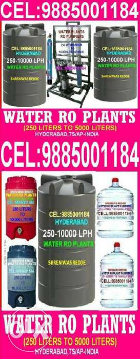 Provide pure, clean and drinking water which is