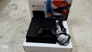 Ps4 1tb console just 9months used and in warranty