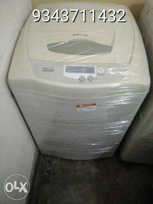 White All In One Portable Washer And Dryer