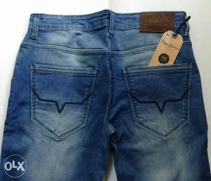Blue Washed Jeans