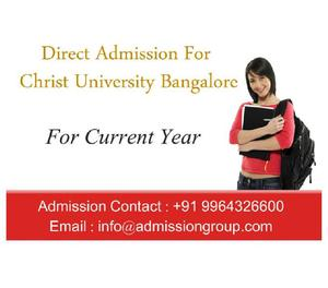 Christ University Fee Structure, Christ University Admission