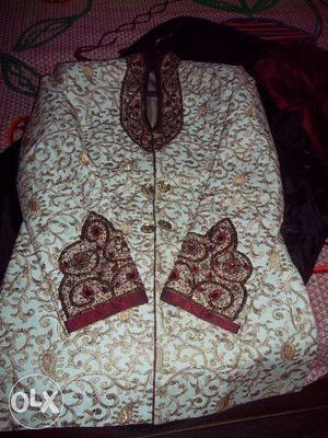 Indo Western Sherwani available, used only once