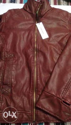 Leather jackets (ZARA)