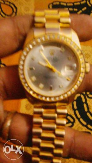 Old  watch Rolex day & date no bill or box