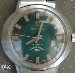 Swiss made watch. Tressa watch. Manual winding.