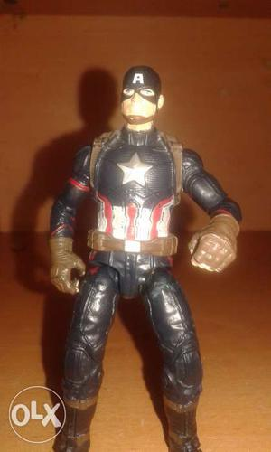 Captain America Action Figure. Fully Articulated.