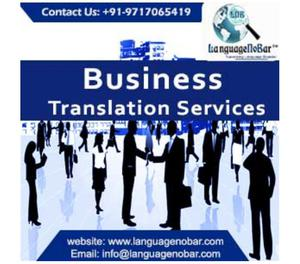 3.)High Quality Professional Business Translation Company