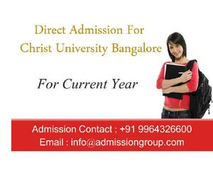 9964326600 >Christ University BBA Direct Admission Bangalore