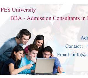 9964326600 ♥ PES University BBA Management Quota Bangalore
