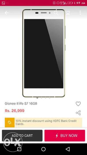 Gionee elife s7 in a excellent working