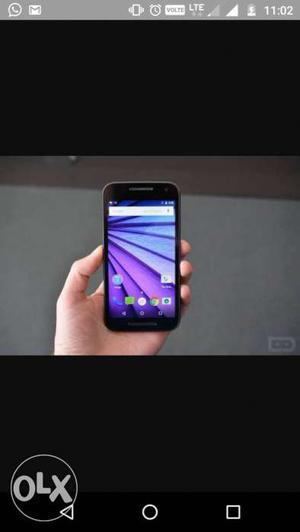 Its moto g3 with 8gb