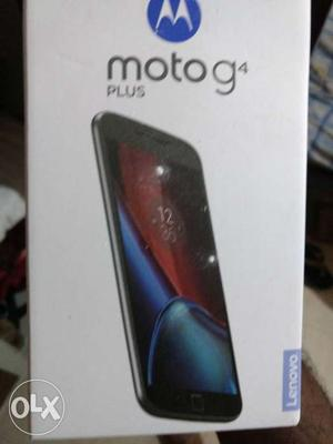 Moto g4 plus 4th generation 3Months old,great