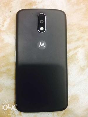 Moto g4 plus black with bill box new condition 3