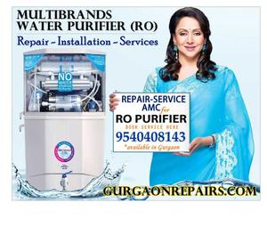 - RO Water Purifier Repair & Service in Gurgaon