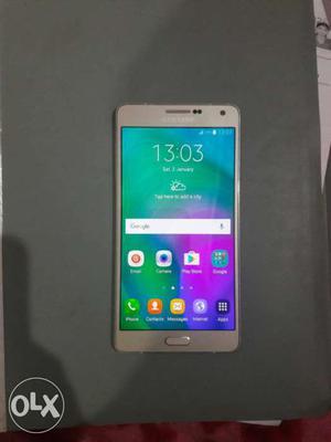 Samsung A7 gold dual sim 4g ram 2gb rom 16gb cam