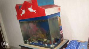 2 Fish tanks with all equipment for sale with top and pump.