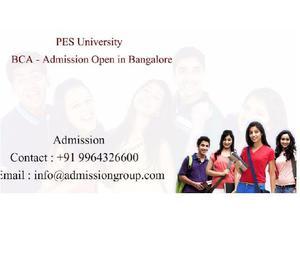 9964326600>PES University BCA Admission Bangalore