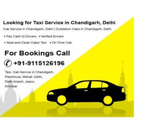 New Delhi Airport to Chandigarh AC Taxi Service - Rs.
