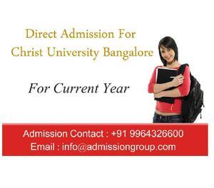 9964326600 > Christ University MCA Admission