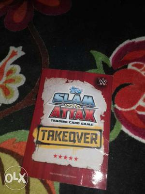 Alberto Del Rio Wrestling Trading Card