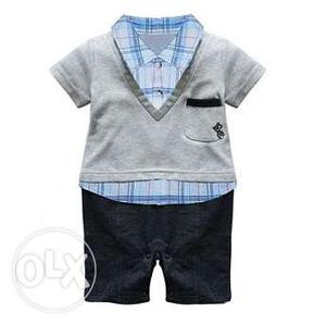 Baby Boy Gentleman Romper Clothing for Birthday