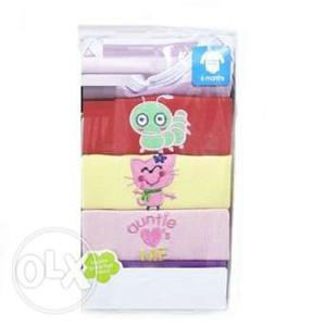 Baby Boys & Girls 5 Pack Bodysuits Clothing Gift Set India