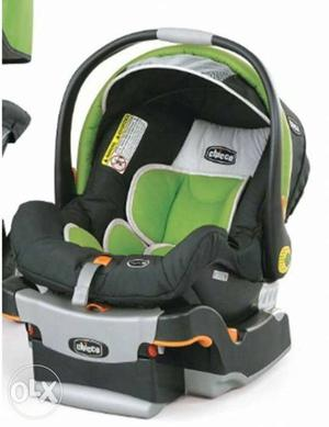 Chicco original car seat for babies is up for