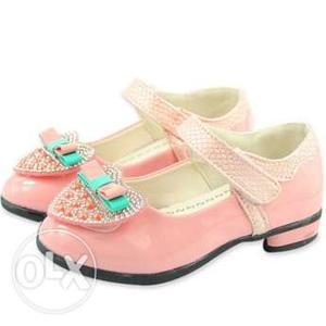 Designer Baby Girl Party Wear Belly Shoes