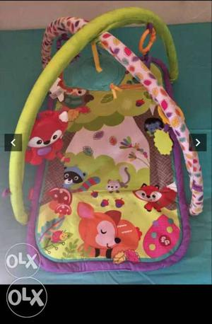 Fisher price baby play gym used only for 2 days..