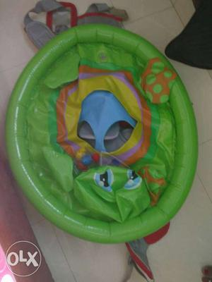 Gently used inflatable floating tube for kids