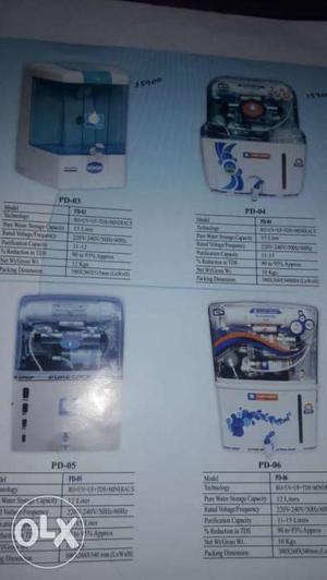 New ro mashin good water purifiers