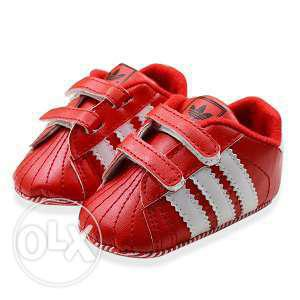 Red Birthday Shoes for Baby Boys
