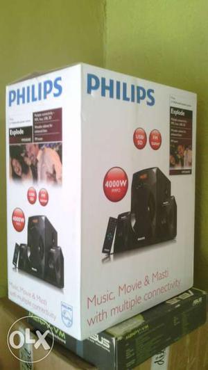 W Philips 2.1 Home Theatre