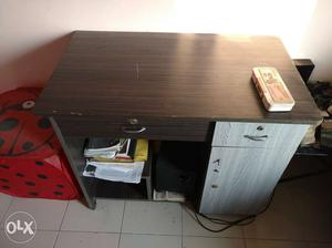 Durable wooden Computer Table in good condition