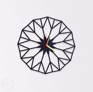 Wall Clock Branded.