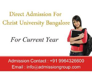 9964326600 > Christ University BBA Admission Bangalore