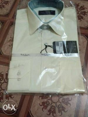 Paul Smith soot shirt with packing and actual