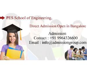 Bangalore direct admission in PES University > 9964326600