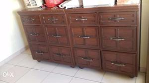 Chest of drawers, Real Strong Shasham wood.