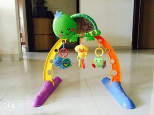 Fisher price activity 2 in 1 gym for infants to