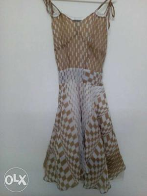 Oversea dress, western style size M,S