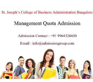 St Joseph College Of Business Administration Fee Structure