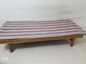 Wooden diwan with storage box type posot class for Old diwan bed