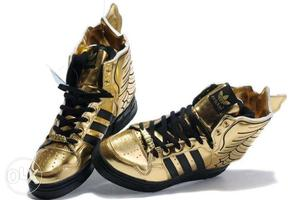 Brand new Adidas Wings shoes this is golden