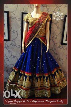 Indo Western Designer Lehanga at Just Rs.  !!