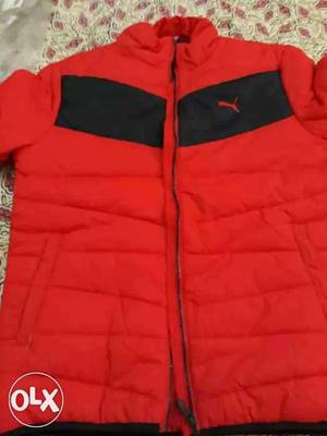 Puma Original Red Color Feather Jacket (M)