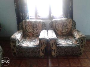 5seater sofa set with cover
